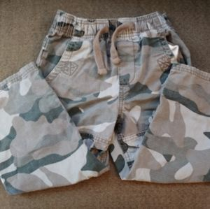 OshKosh camo pull up toddler pants